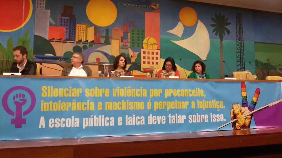 Inclusão do termo gênero no Plano Municipal de Educação foi tema de ato-debate na Câmara Municipal de São Paulo