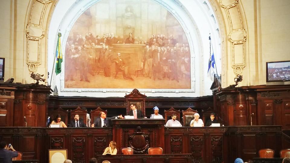 """Audiência pública """"Intolerância Reigiosa X Democracia"""", na Alerj"""