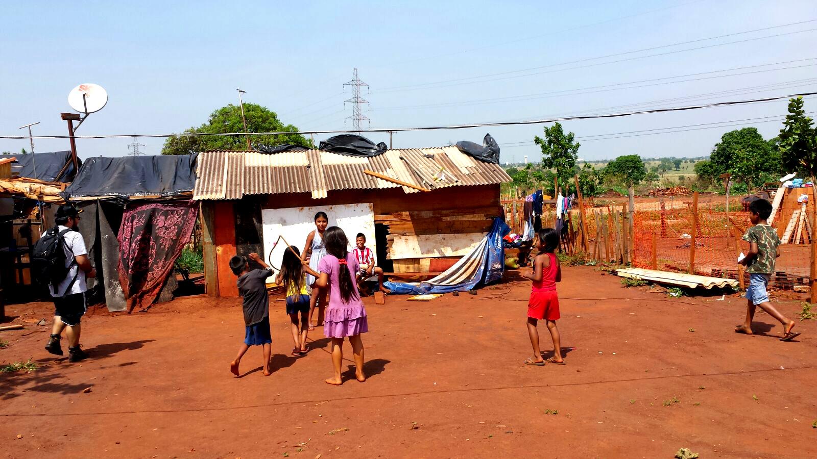 #MissãoEcumênica: primeira parada é numa ocupação indígena urbana