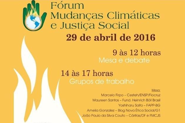 Rio tem Encontro Estadual de Mudanças Climáticas e Justiça Social