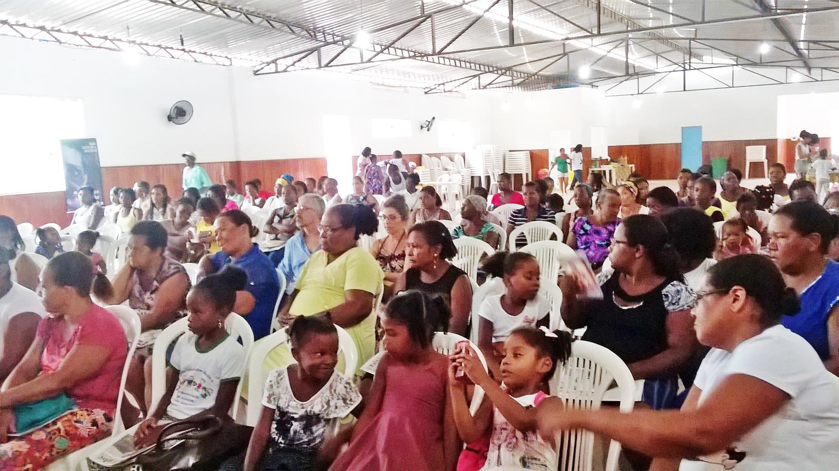 Seminário no Baixo Sul da Bahia reúne quilombolas e agricultoras para debater o enfrentamento à violência contra a mulher