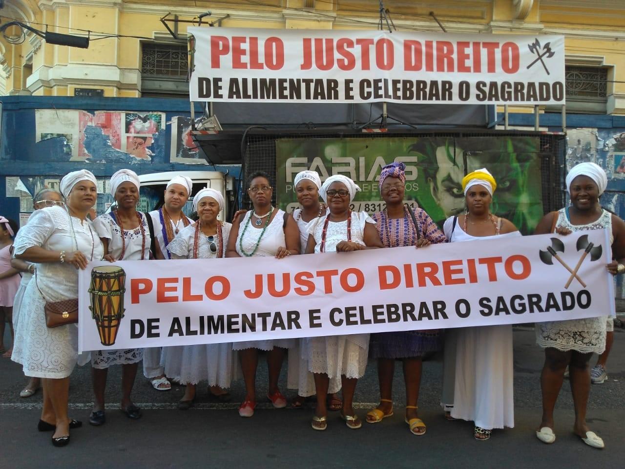 Povo de Santo mobiliza atos por todo o país contra o recurso RE 494601