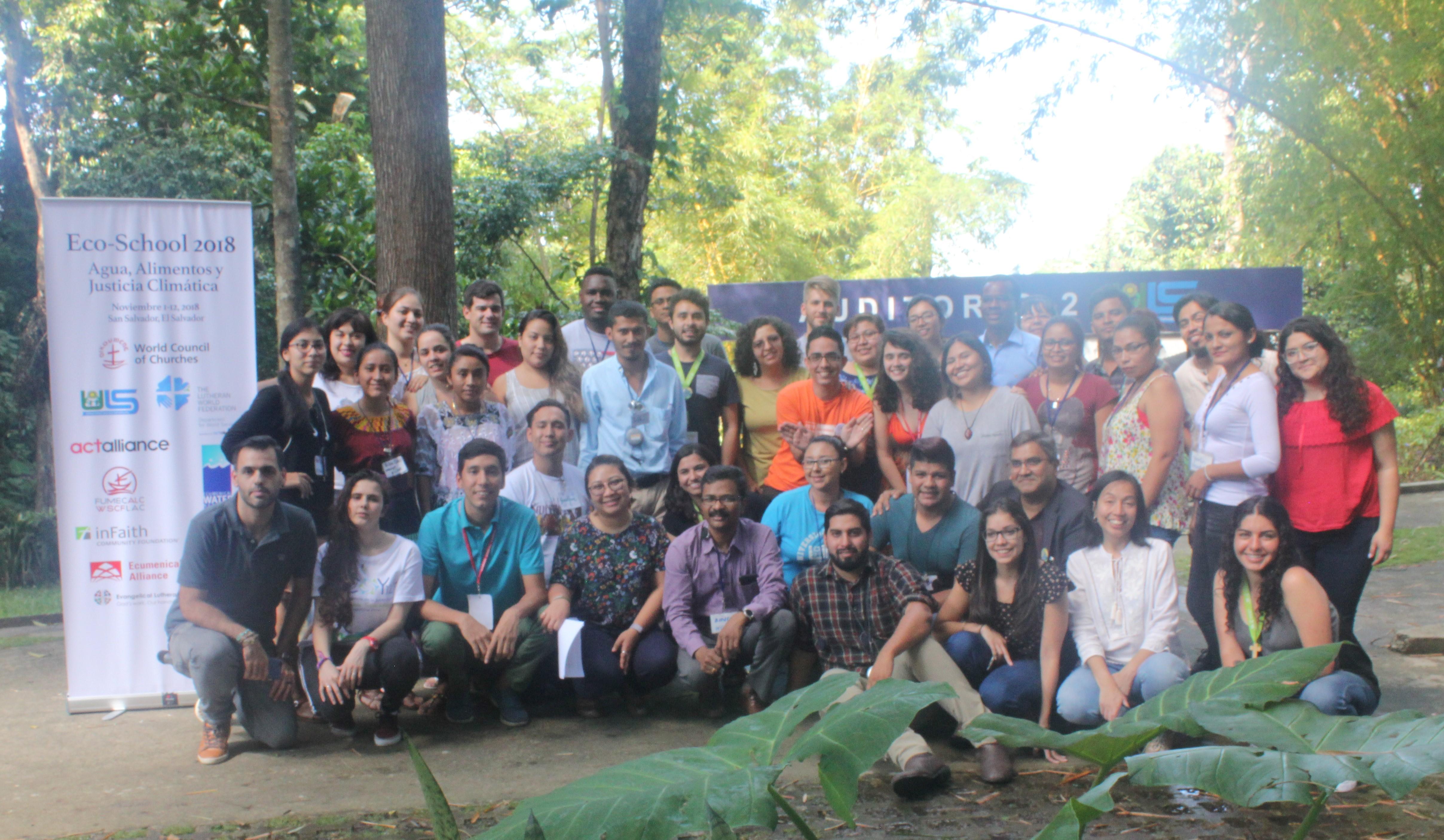 Relato: Juventude latinoamerica se reúne em El Salvador para discutir Água, Alimentação e Justiça Climática