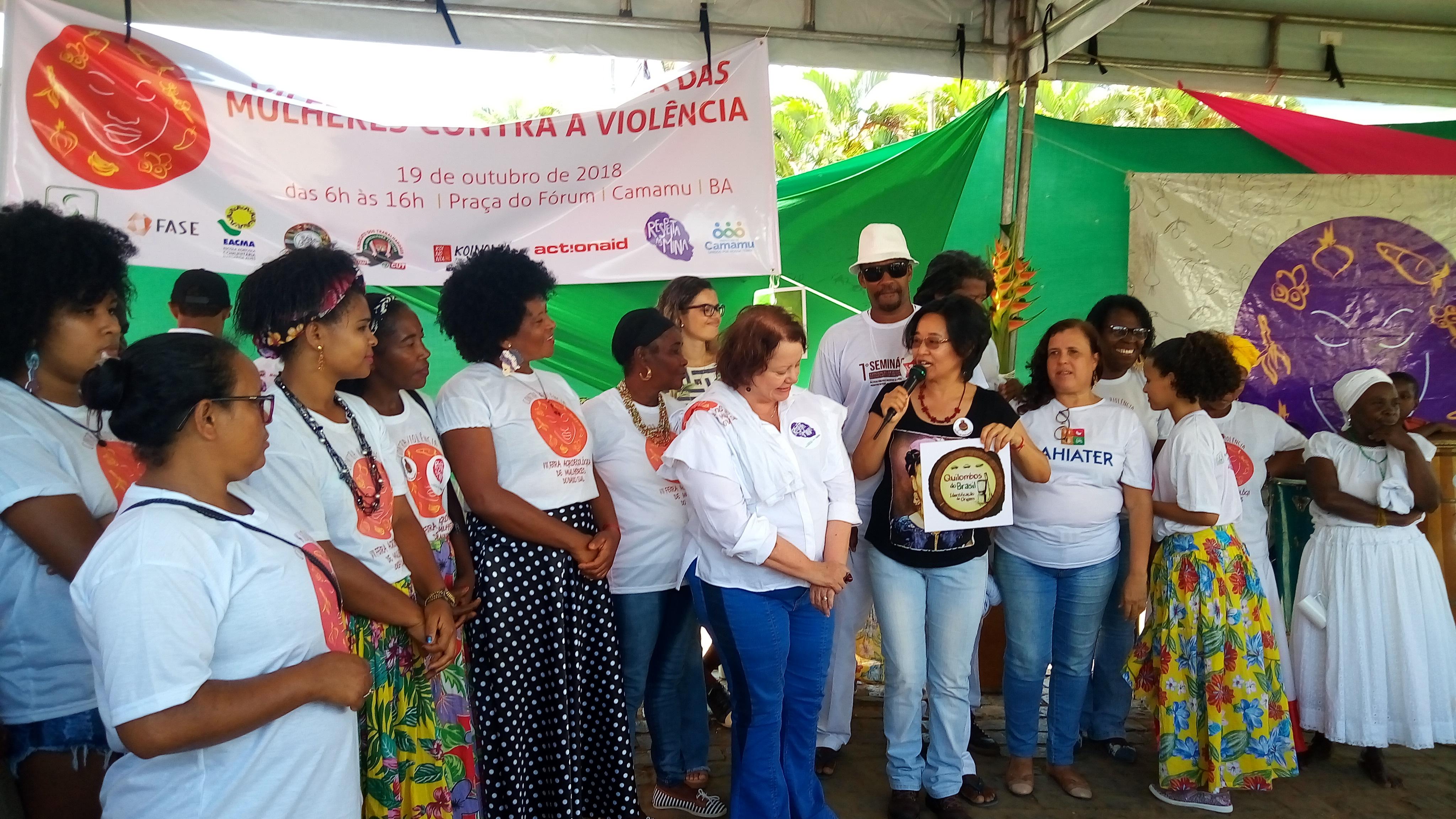 Assessoria jurídica nas atividades de KOINONIA na Bahia