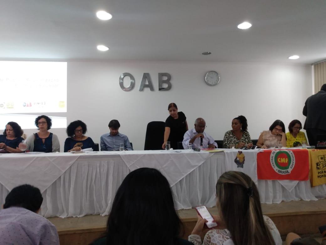 KOINONIA participa do Debate Público sobre Regularização Fundiária de Salvador