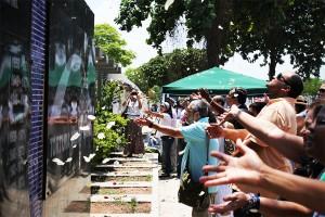 Ato em Memória dos Mortos e Desaparecidos da ditadura, em 2014