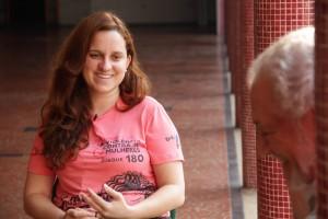 Mariana Zuccarello, da Rede Ecumênica da Juventude (Reju): inspiração nos jovens protestantes que lutaram contra a ditadura