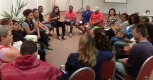 Roda de conversa com KOINONIA/Observatório Quilombola | Foto: Observatório Cabo Frio