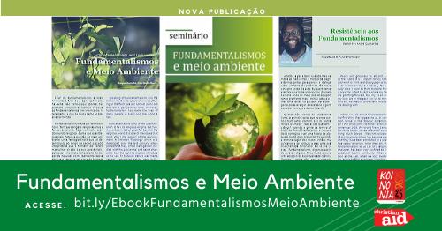 """Lançamento: E-book """"Fundamentalismos e Meio Ambiente"""""""