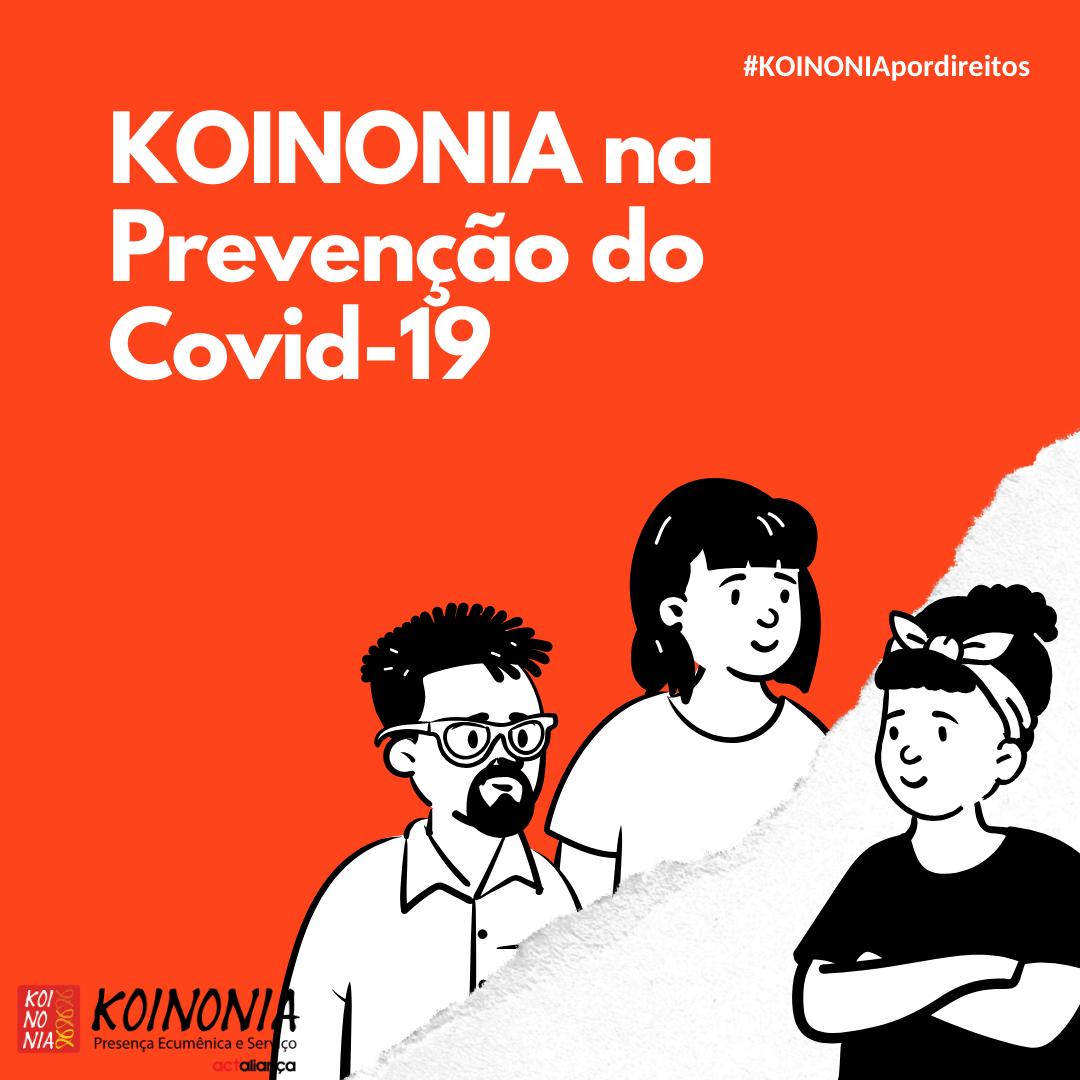 KOINONIA na prevenção do COVID-19