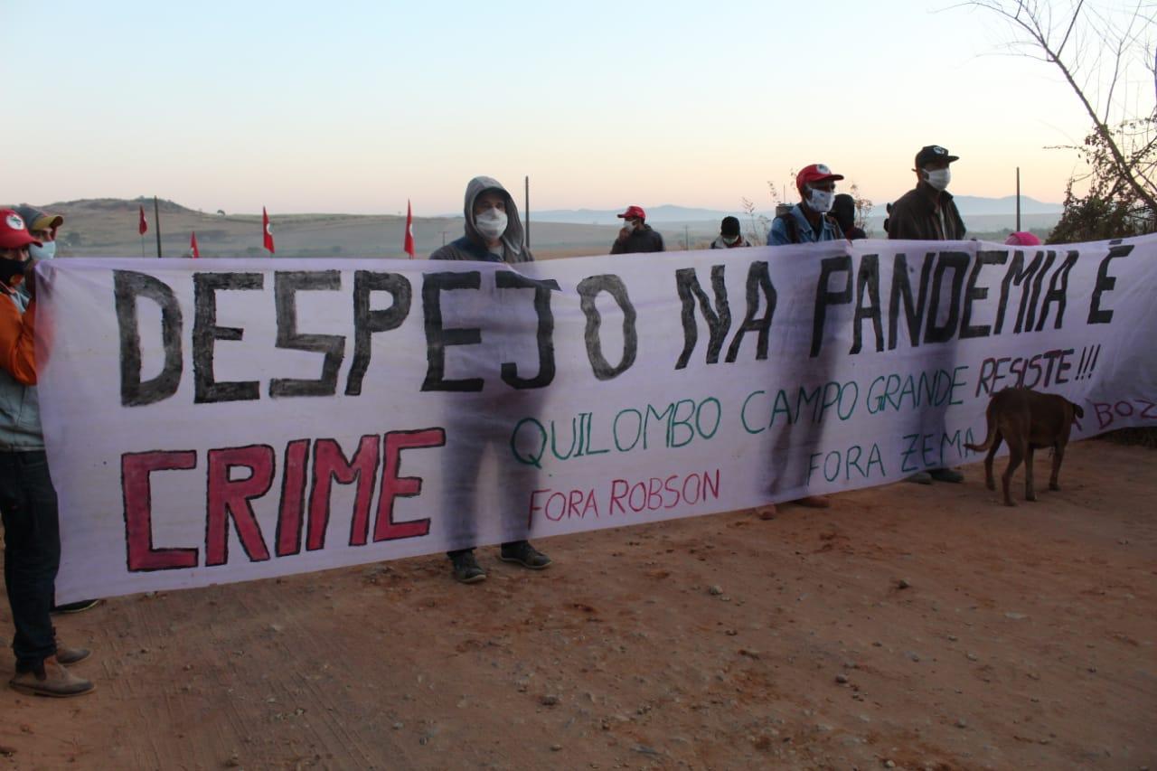 Nota do Fórum Ecumênico ACT Brasil em solidariedade com o Quilombo Campo Grande